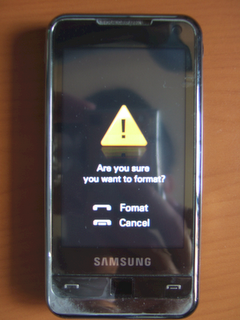 Hard Reset Samsung Omnia - MobileWave.ro